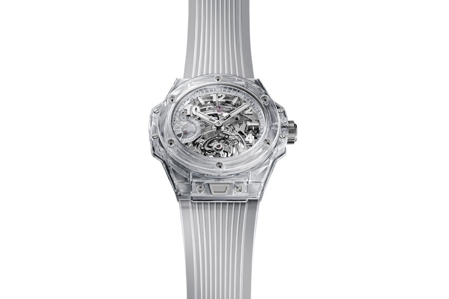 Tourbillon der Hublot Sapphire Watch Collection
