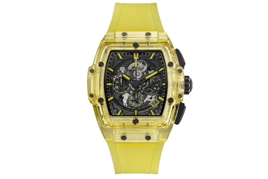 Hublot Sapphire Watch Collection gelb