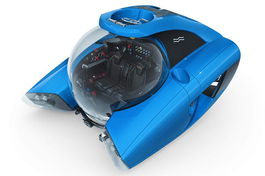 Das Nemo-U-Boot ist Ihr ultraleichtes, persönliches U-Boot