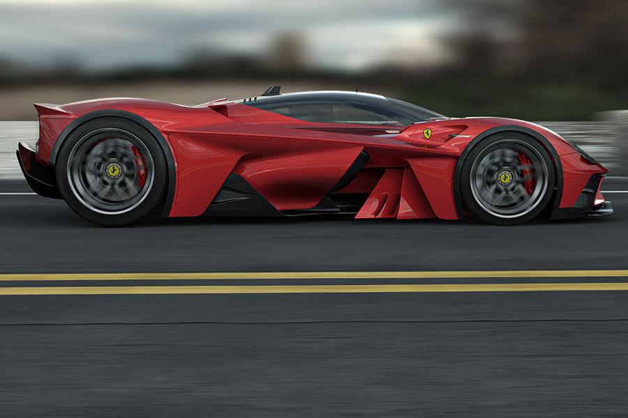 Ferrari F399 Konzept