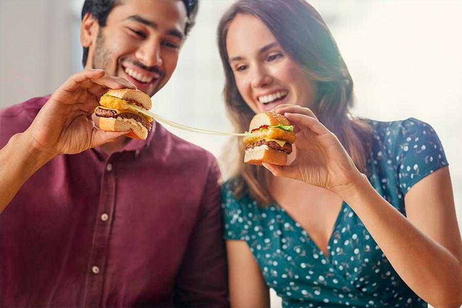 McDonald's Cheesy Range 3