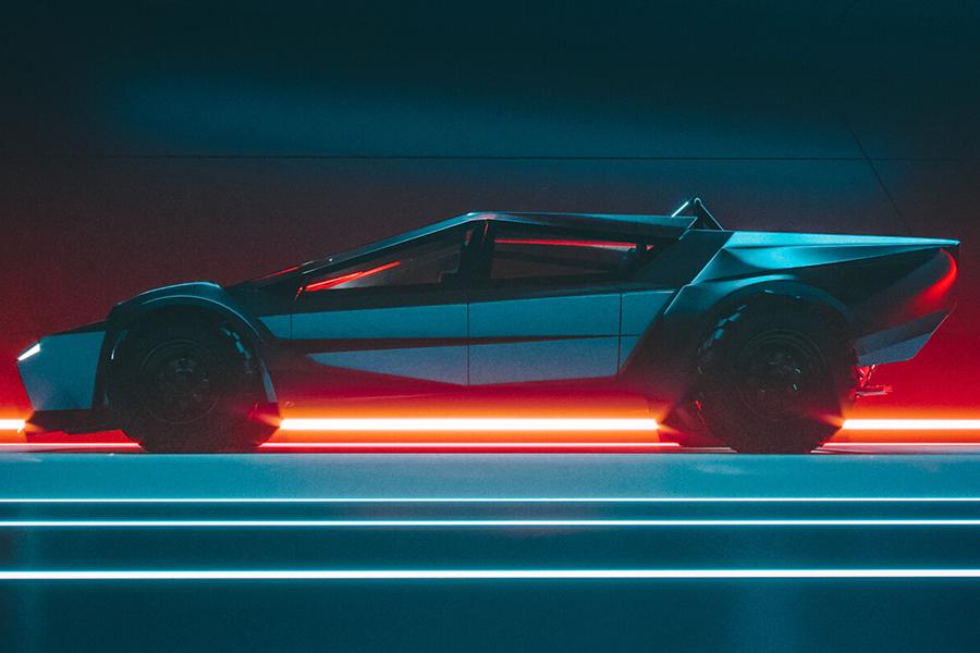 Tesla Cybertruck Redesign-Konzept