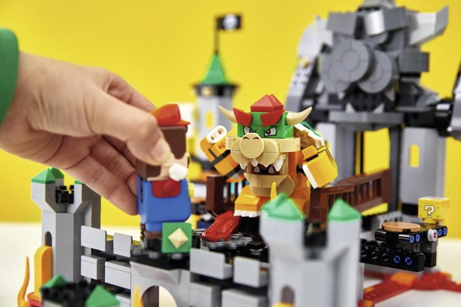 LEGO Super Mario Bowsers Schloss