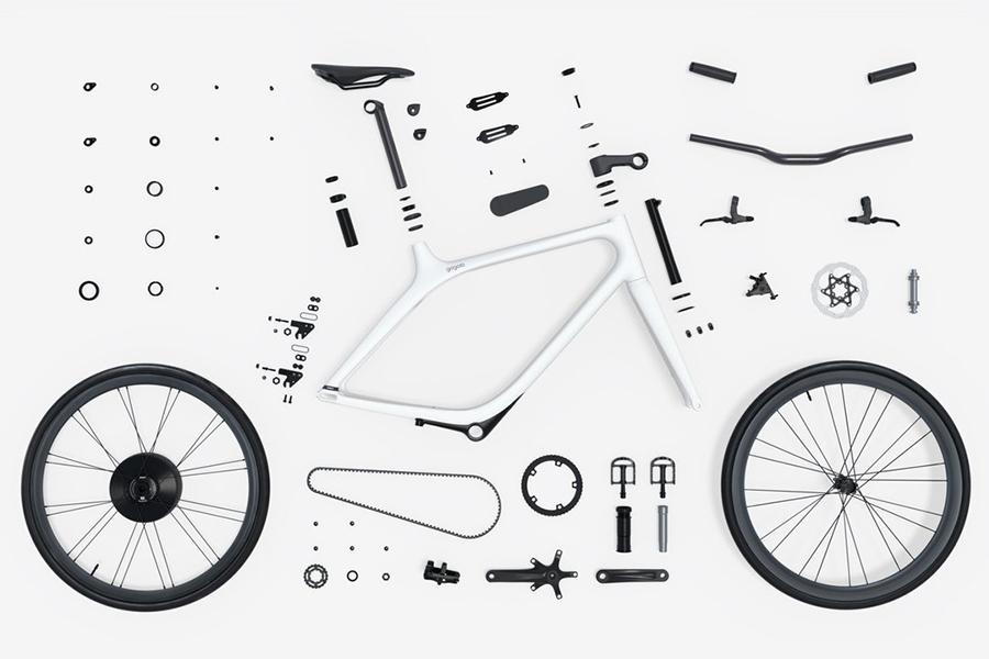 Eeyo Bike Teile von Gogoro
