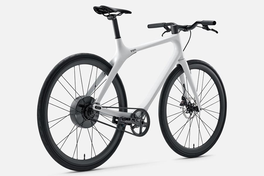Eeyo Bike Seitenansicht von Gogoro
