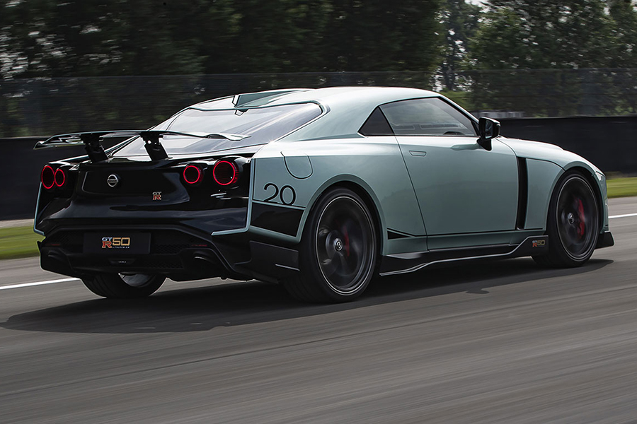 GTR 50 vehicle