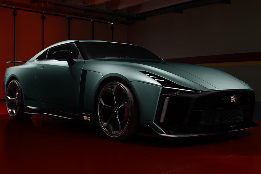 ItalDesign's Nissan GTR 50 is Better Late Than Never
