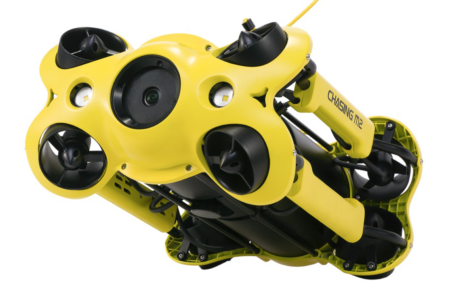 Chasing Goes Pro with M2 Underwater Drone