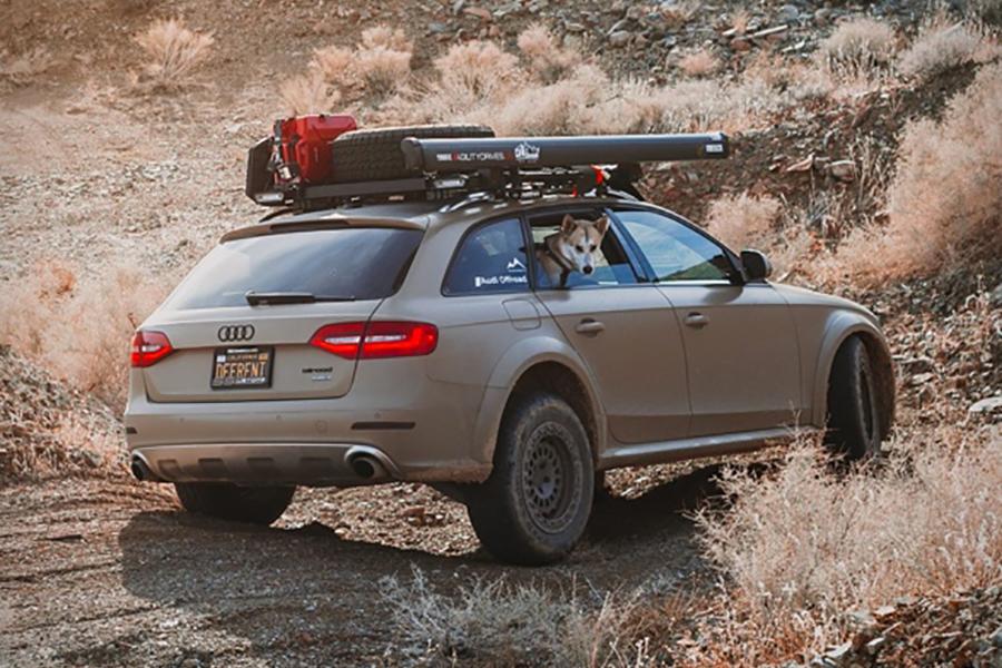 Audi Offroad Mod Rückansicht