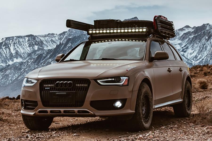 Audi Offroad Mod nimmt den Allroad zu allen Straßen
