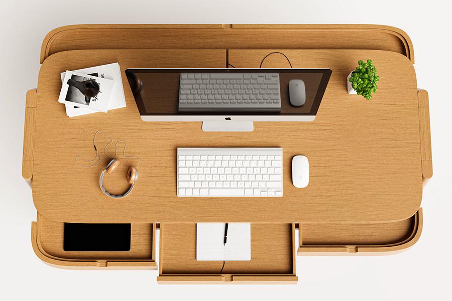 Shelter Desk kann Ihr Home Office organisieren