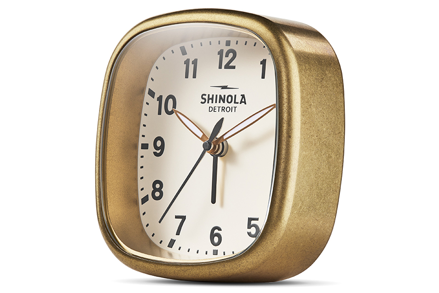 Shinola Guardian Wecker Seitenansicht