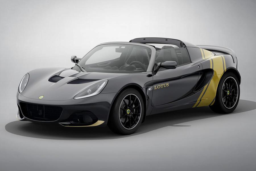Lotus bietet eine Auswahl mit Classic Heritage Edition Elises