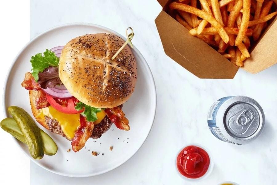Burger Essen Lieferung