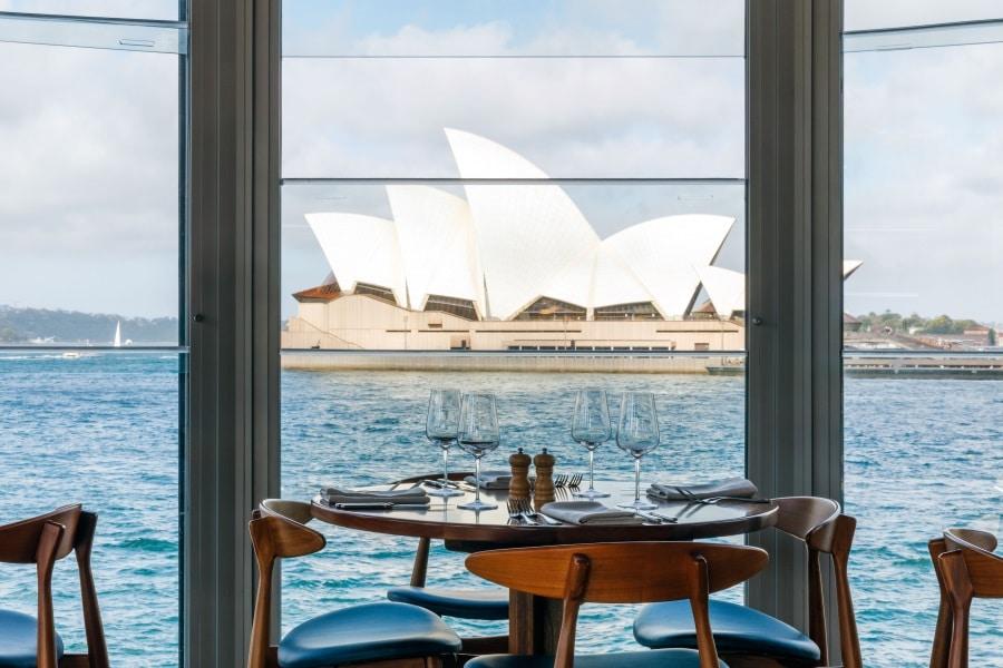 Knappe landet den Zielort Sydney