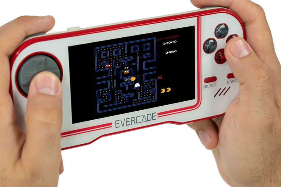 Evercade Retro Games Console spielen