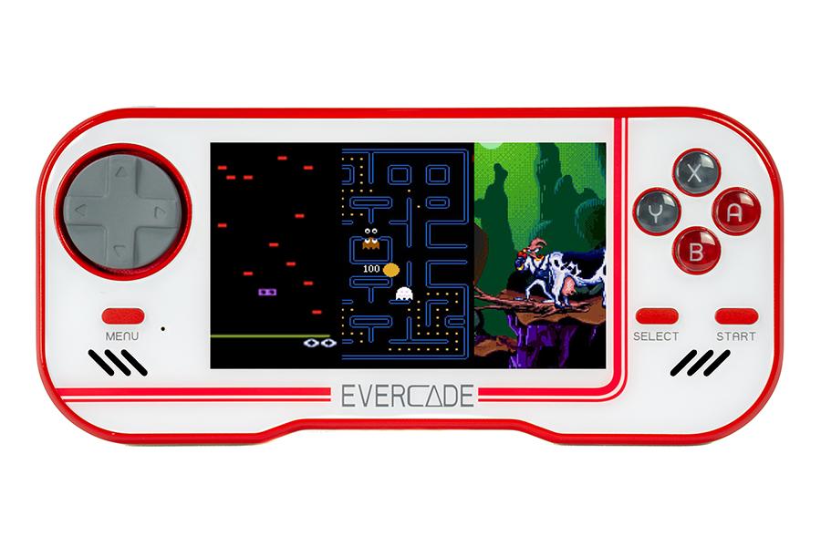 Evercade Retro Games Console bringt Nostalgie in Ihre Handfläche