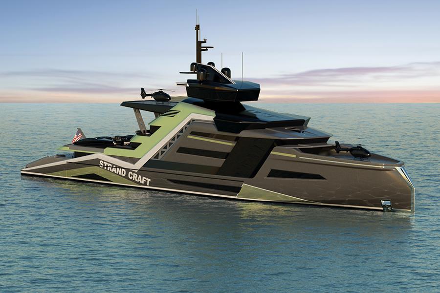 700 Millionen USD Miami Concept Yacht Packs in einer Menge