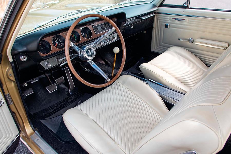 1965 Pontiac Hurst GeeTo Tiger Armaturenbrett