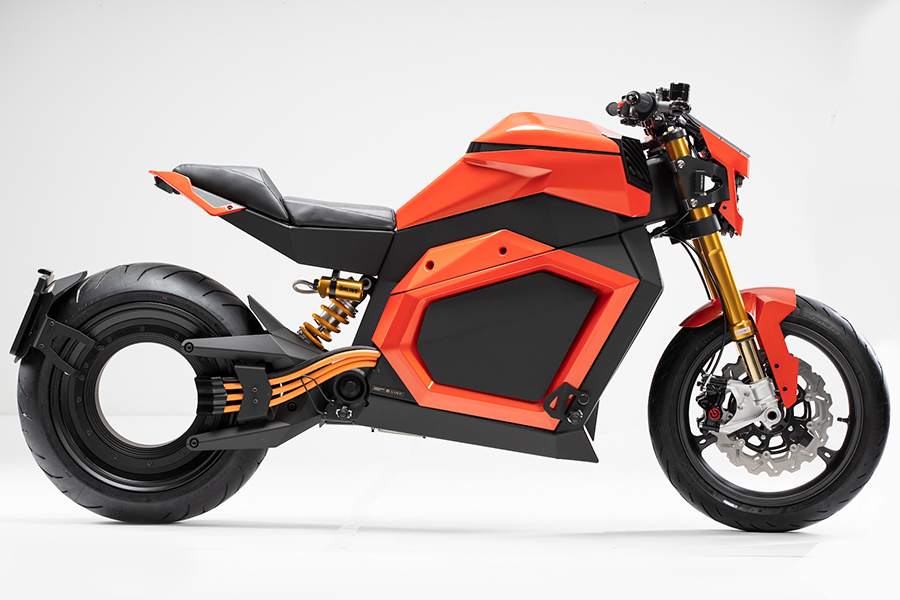 VERGE TS Electric Roadster Motorrad