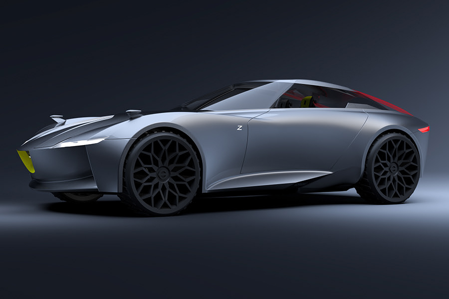 Das Nissan Z-Vision-Konzept 2017 steigert das Vergnügen