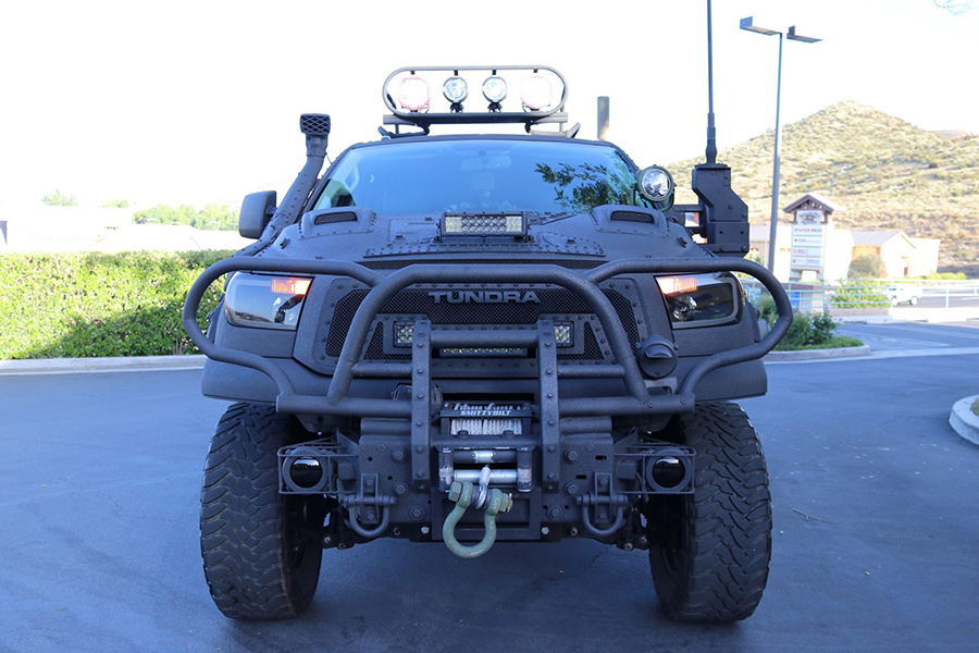 Toyota Tundra Custom Build Front