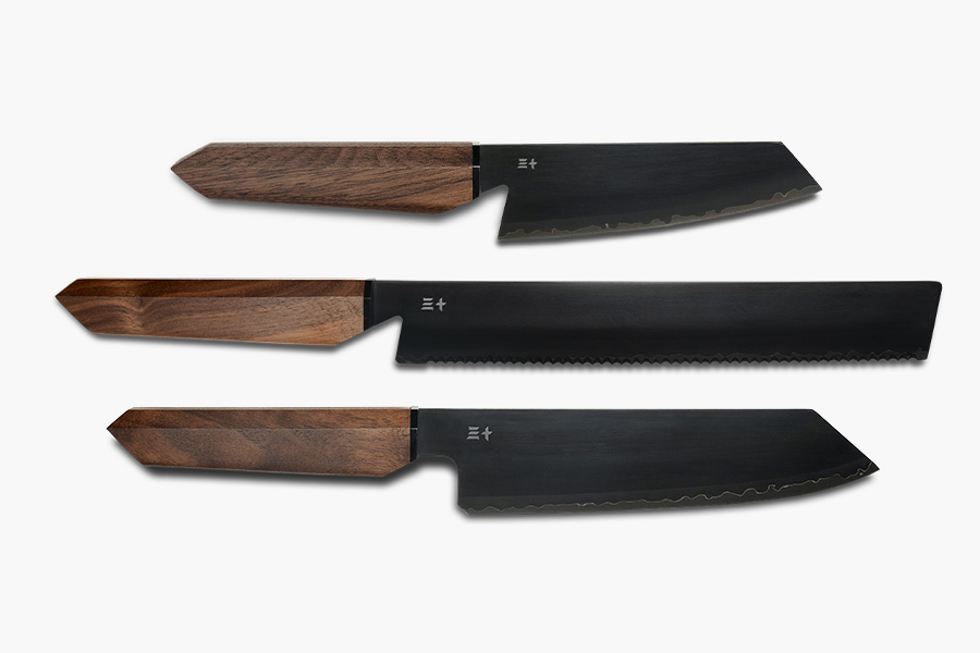 Hinoki Essential Knives sind Samurai-würdig aus dem 16. Jahrhundert