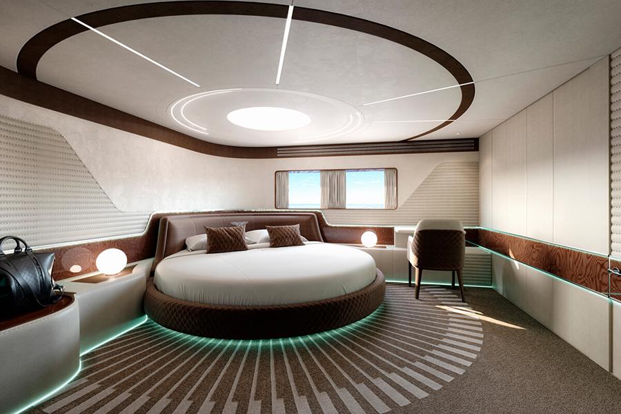 Dynamisches GTM90 Schlafzimmer