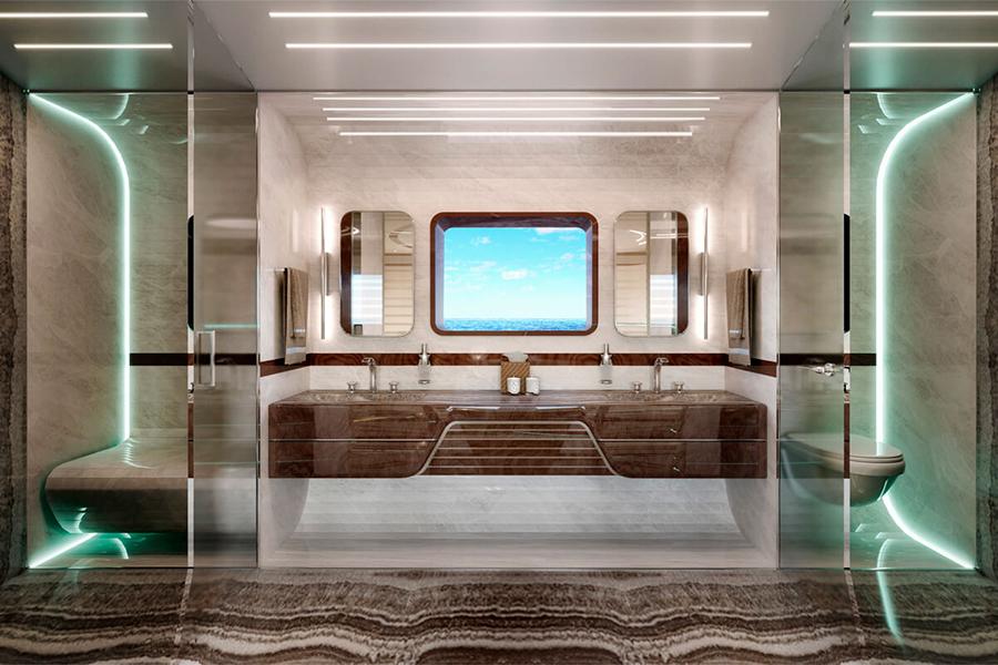 Dynamisches GTM90 Badezimmer