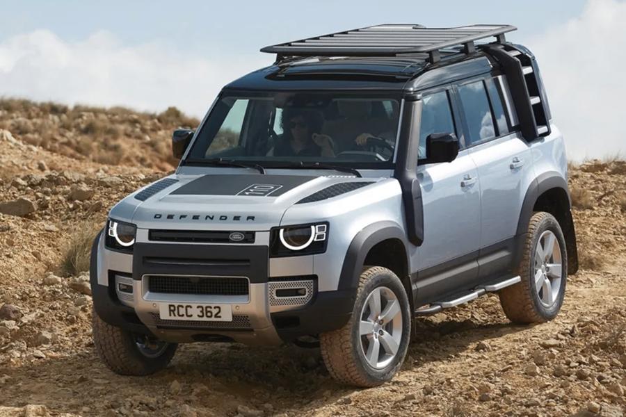 2020 Offroading des Land Rover Defender