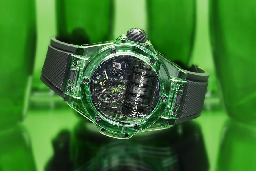 Hublot Sapphire Watch Collection grün