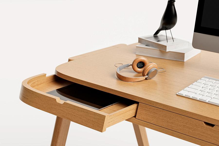 Shelter Desk für die organisierte Schublade