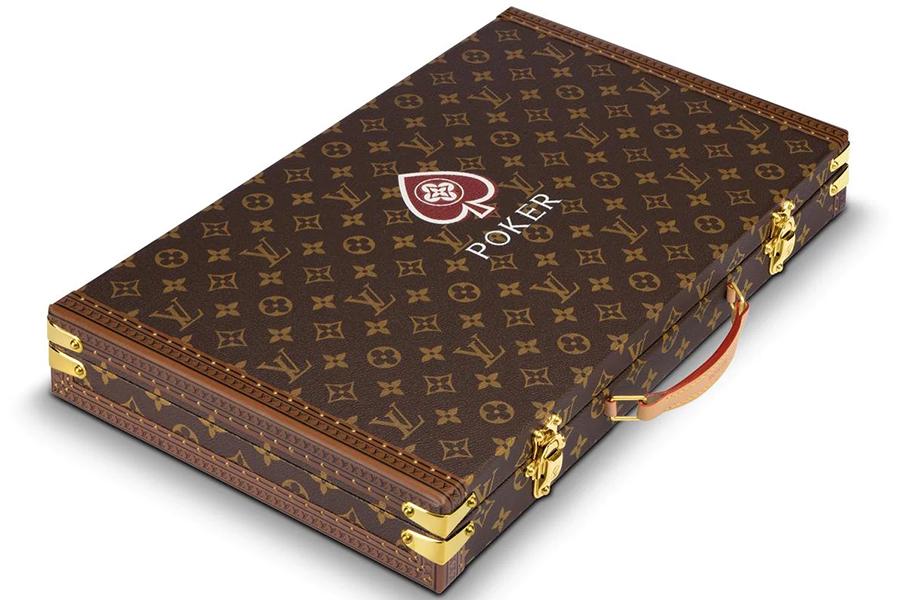 Louis Vuitton Poker Set Draufsicht auf die Box