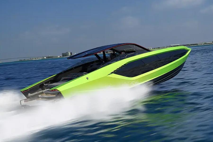 Lamborghini arbeitet mit Tecnomar für eine 4.000 PS starke Luxusyacht zusammen