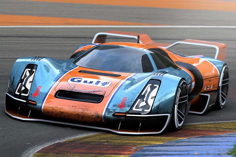 Angelini kommt mit dem Porsche 906 Hommage Concept zurück