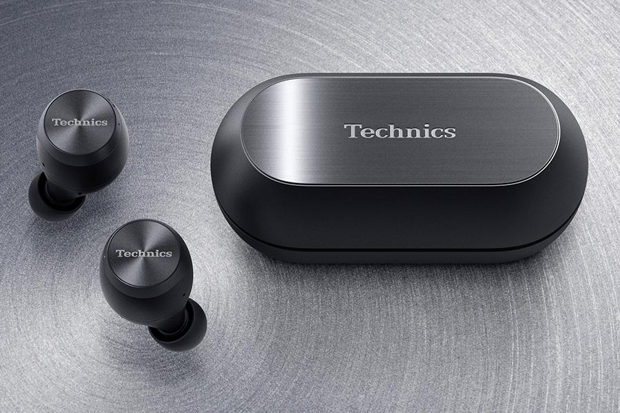 Technics kabellose Kopfhörer und Hülle