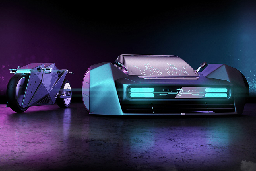 Hyper Cyber Concept Takes Transportation to 2080