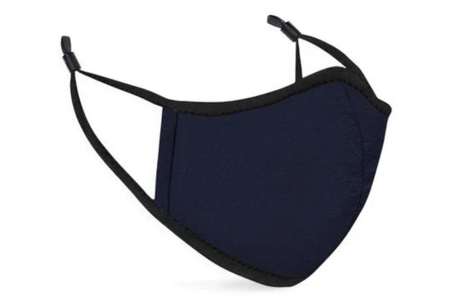 Beste Stoff-Gesichtsmasken - Vida Blue Noir Mask