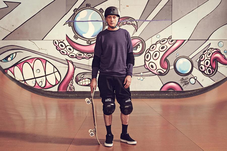 Tony Hawk Skateboarding Meisterklasse mit Skateboard