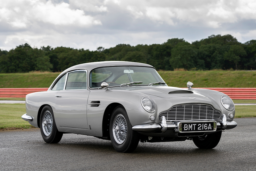 Aston Martin's First DB5 in 55 Years has Working James Bond Gadgets