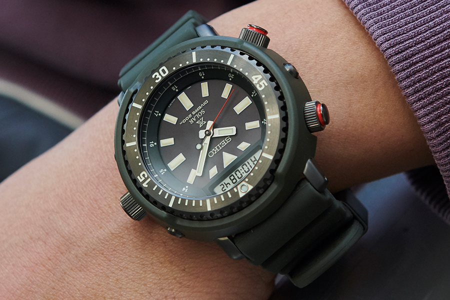 Seiko Prospex Street Series Goes on Urban Safari