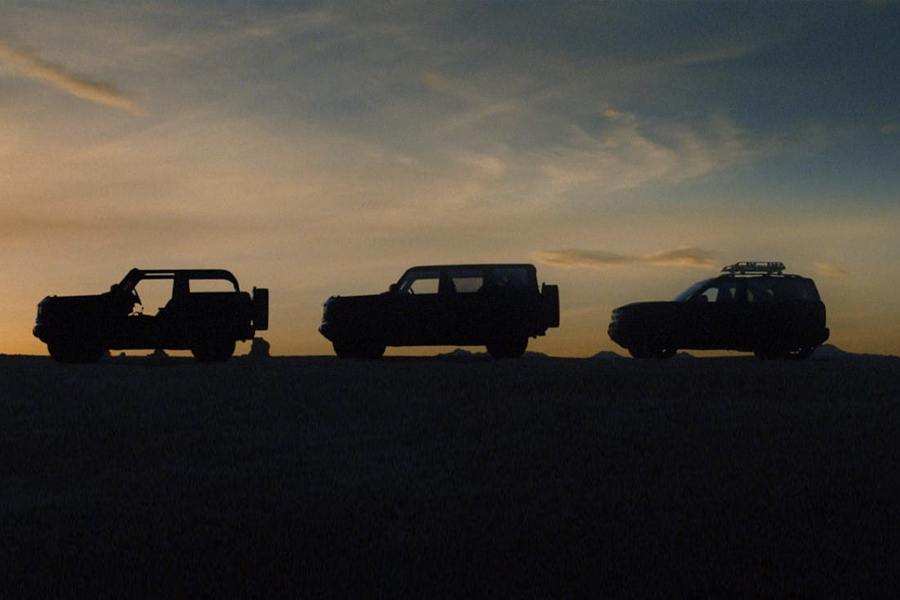 Ford Drops Teaser for the New Bronco Family