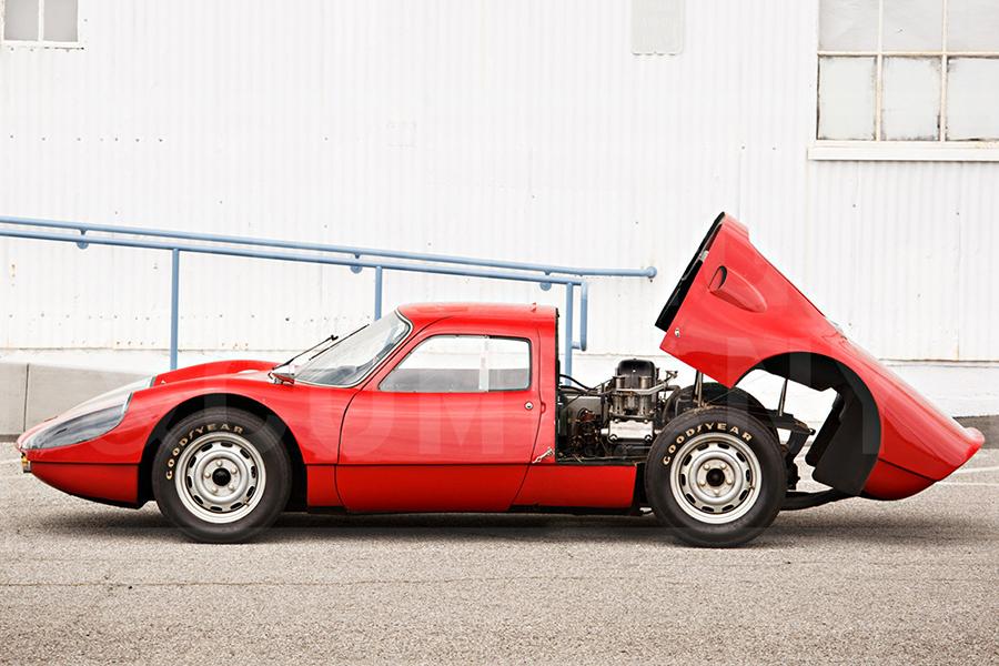1964 Porsche 904 Carrera GTS wieder offen