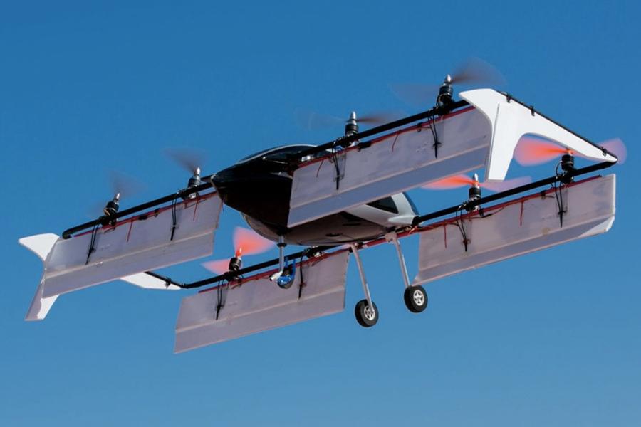 Fahrerlose fliegende Autos kommen nach Outback Australien