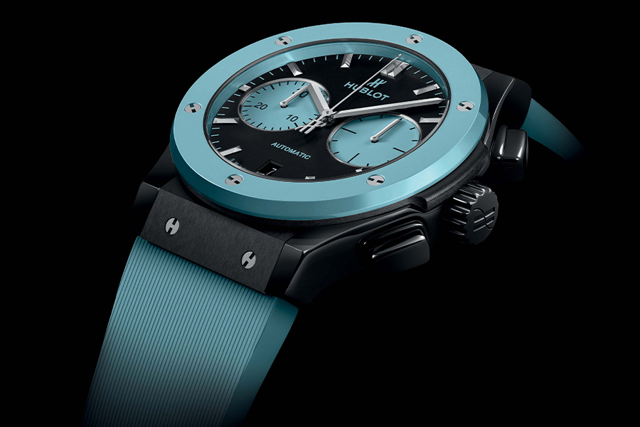 Hublot's Latest Classic Fusion Chronograph is an Ode to Capri