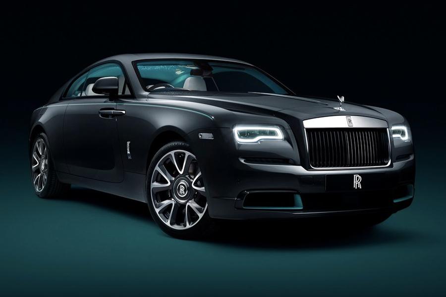 Maßgeschneiderte Rolls-Royce Wraith Kryptos werden mit einer geheimen Nachricht verschlüsselt