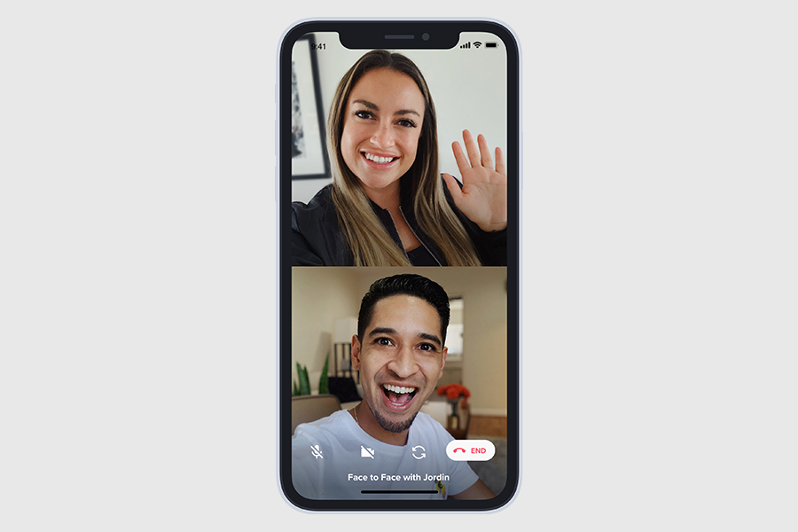 You Can Now Face to Face Video Chat on Tinder