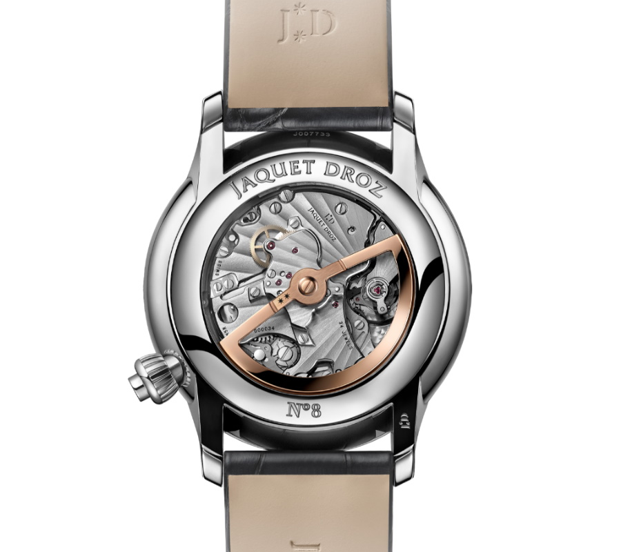 Luxus Schweizer Uhr Gehäuseboden