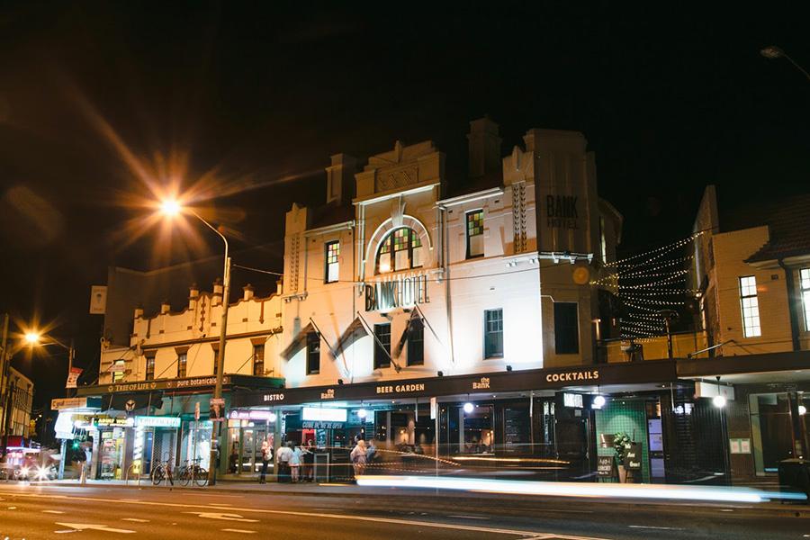 36 besten Veranstaltungsorte für Live-Musik in Sydney - Bank Hotel