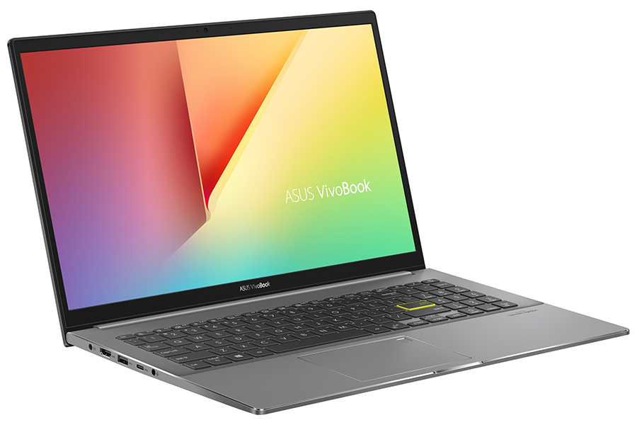 Asus Vivobook S15 side view